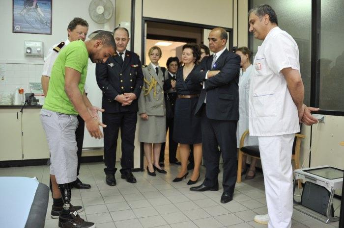 Visite de m kader arif ministre d l gu aux anciens - Office nationale des anciens combattants ...